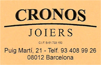 cronos-joiers